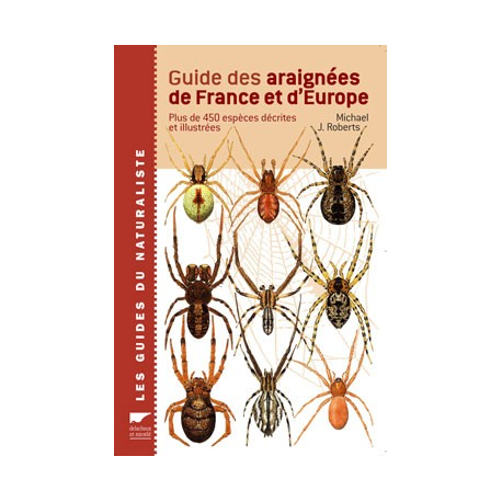 Guide des araignées de France et d'Europe Pest Control Media